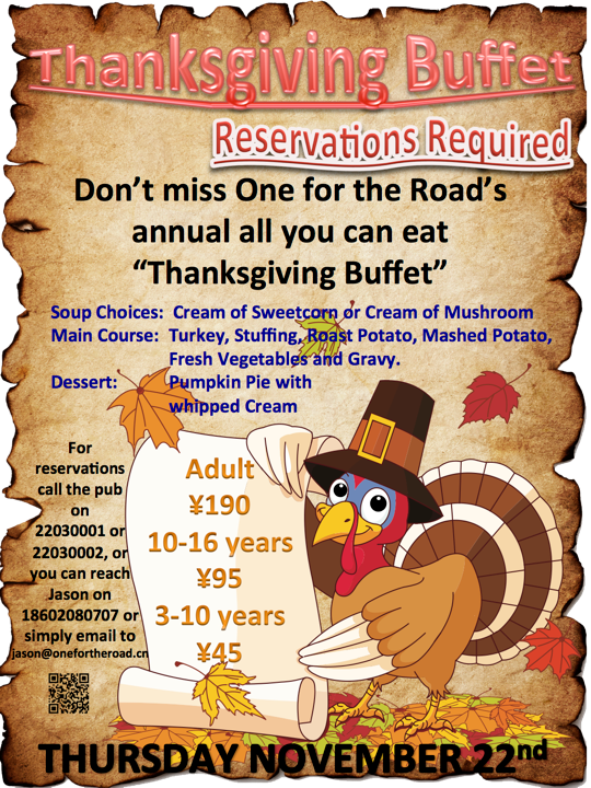 It's time for a Thanksgiving feast!