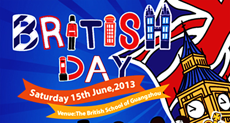 2013 British Day Saturday June 15th in Guangzhou