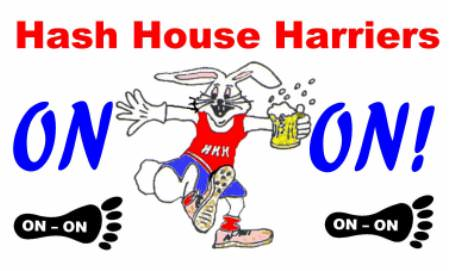 Hash House Harriers Group and Halloween Runs February 2020