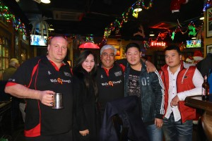 """Dongguan Darts Tournament with the One for the Road """"Zulu's"""" @ One For The Road Pub (Dart Board)"""