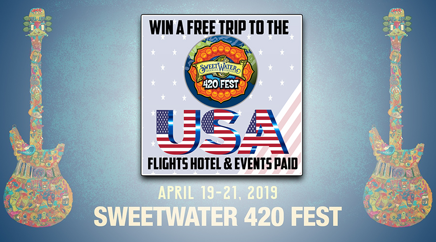 Win a FREE trip to the USA!!!